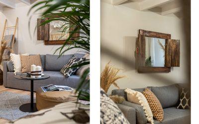 Pięknie zaaranżowane mieszkanie z antresolą.